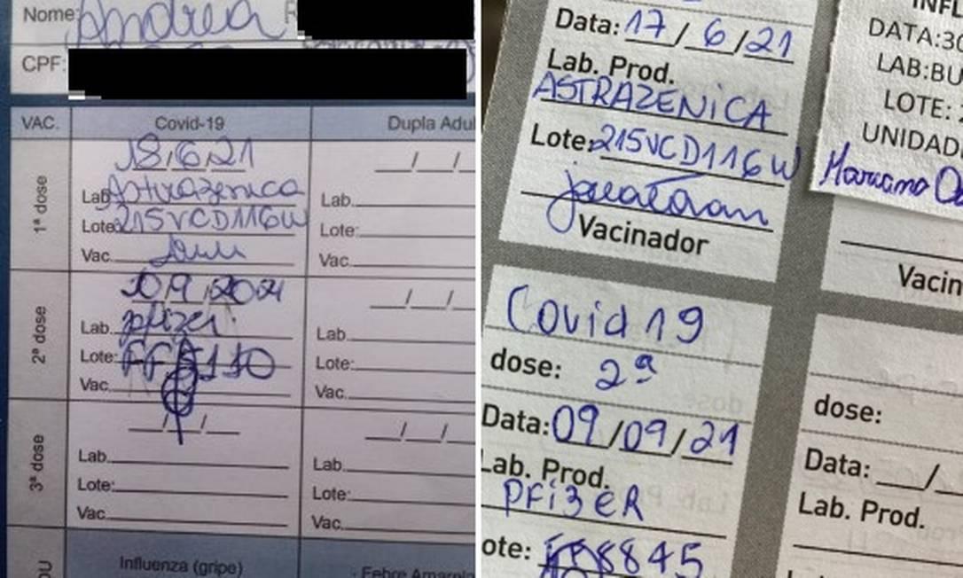 Moradores do Rio tomam vacina da Pfizer em vez de da AstraZeneca na segunda dose Foto: Reprodução