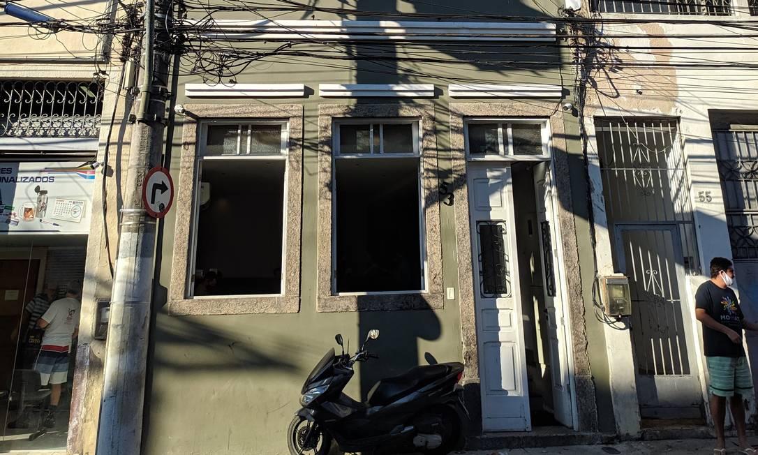 Fachada do imóvel na Rua Passo da Pátria, já com alterações Foto: Divulgação
