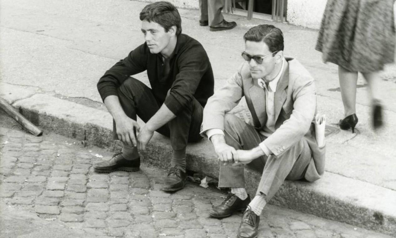 Franco Citti e Pasolini, Accattone (1961) Foto: Divulgação