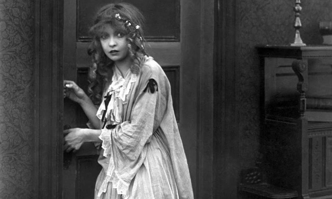 Lilian Gish em 'O nascimento de uma nação' (1915), de Griffith Foto: Divulgação