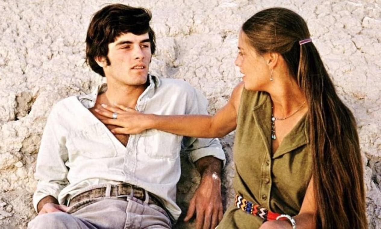 Mark Frechette e Daria Halprin em Zabriskie point (1970), de Antonioni Foto: Divulgação