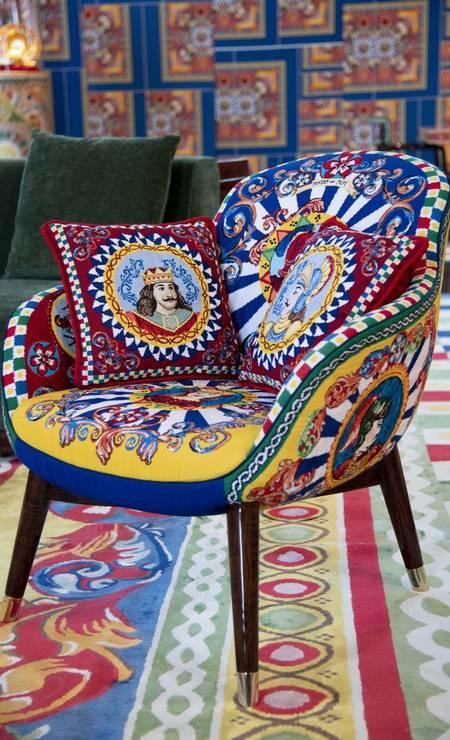 Linha casa Dolce & Gabbana Foto: Divulgação