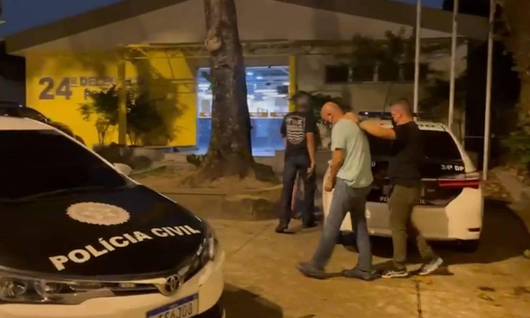 """O """"Lucho"""", como é chamado Luiz Alberto Martinez Gracia, segundo a Polícia Civil, foi preso esse sábado por policiais da 24ª DP (Piedade), de São Gonçalo Foto: Divulgação"""