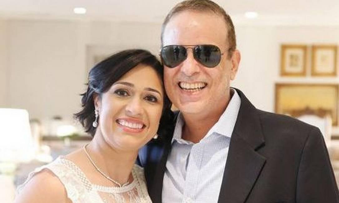 Valeska e Dudu Braga Foto: reprodução