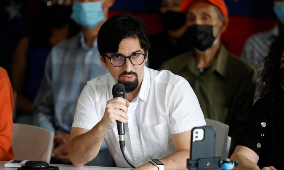 Guevara diz que nem oposição nem Maduro conseguiram o que queriam sozinhos, e que por isso desta vez negociação pode dar resultado Foto: Leonardo Fernandez Viloria / Reuters