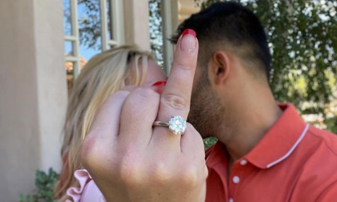 Britney Spears anuncia noivado com Sam Asghari Foto: Reprodução/Instagram/Sam Asghari