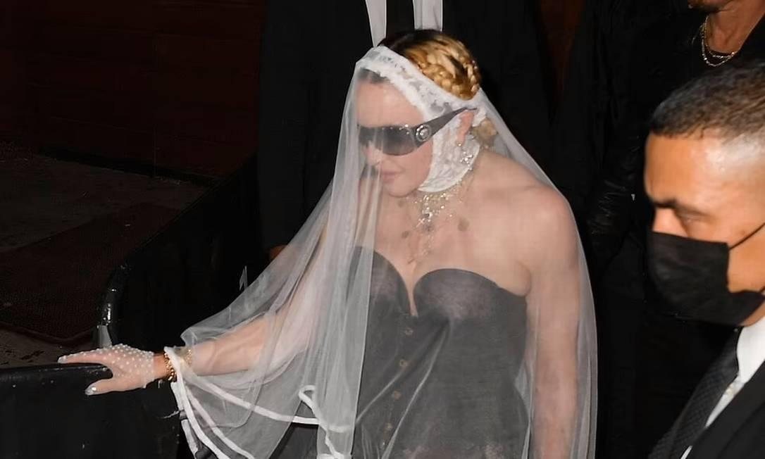 Madonna Foto: Backgrid via Daily Mail