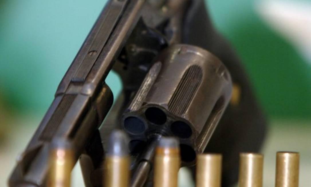 Revólver calibre .38 é um dos mais utilizados por forças de segurança Foto: Fábio Guimarães / Agência O GLOBO