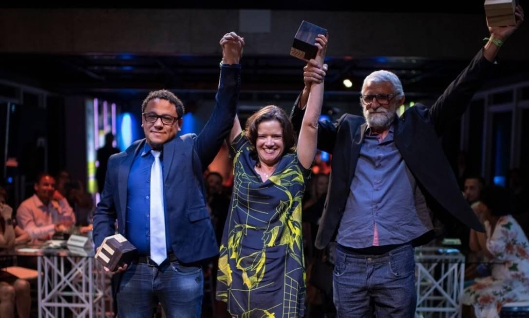 Vencedores do prêmio em 2019 participam de cerimônia de entrega Foto: Divulgação/Lucas Landau