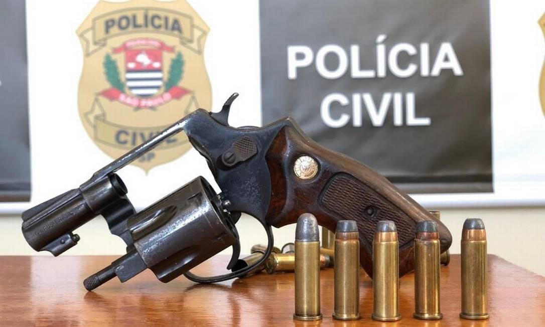 Arma e munição Foto: Divulgação