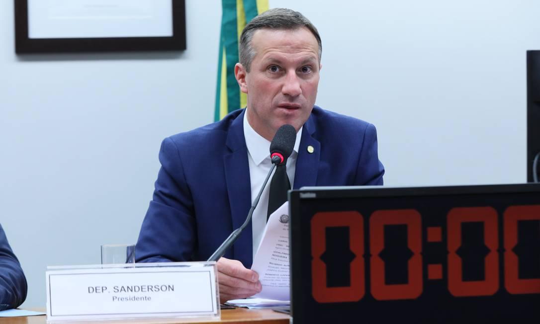 Relator Sanderson (PSL-RS) apresentou parecer a favor do texto em comissão especial Foto: Cleia Viana / Câmara dos Deputados