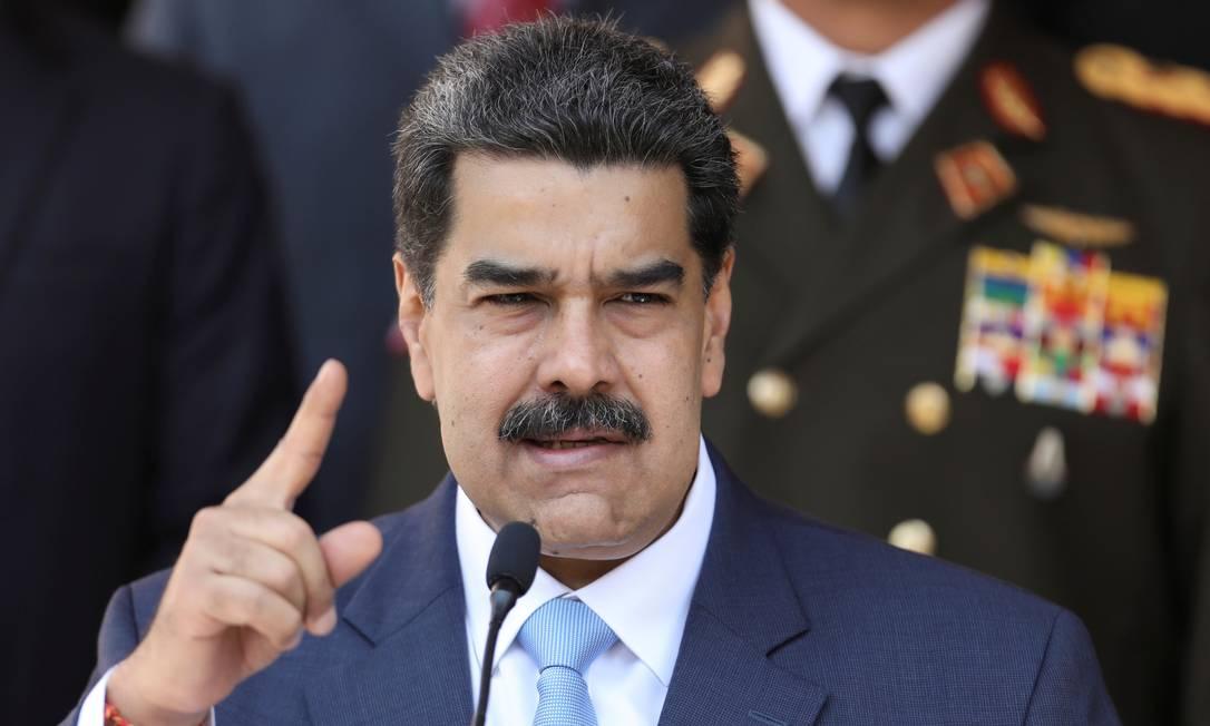 O presidente venezuelano Nicolás Maduro Foto: Manaure Quintero / Reuters