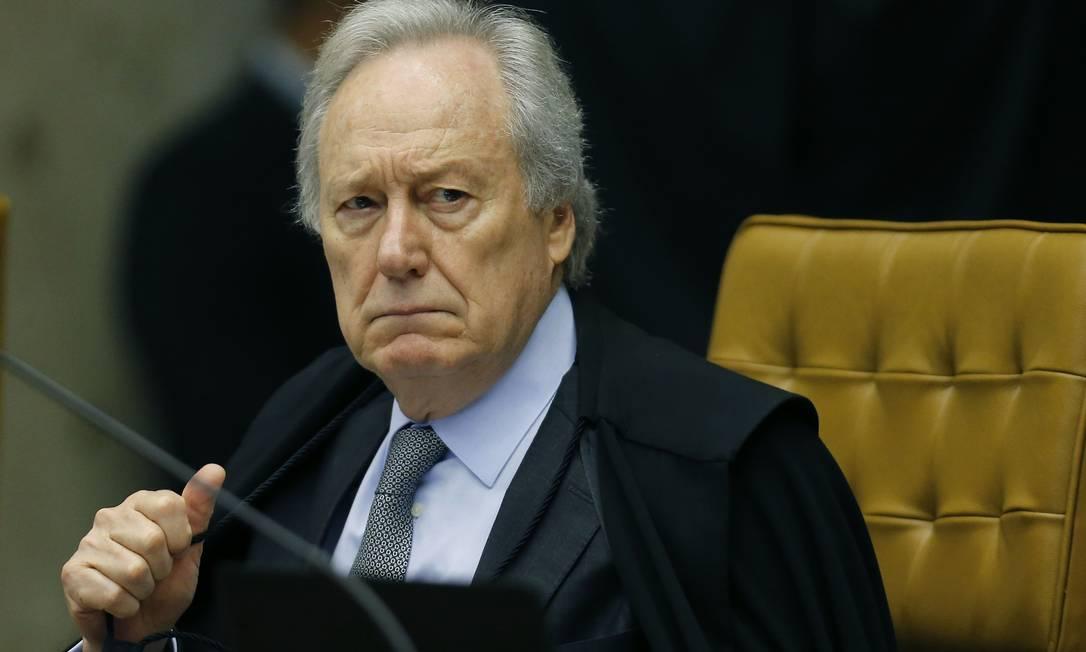O ministro Ricardo Lewandowski. Foto: Jorge William / Agência O Globo Foto: Jorge William / Agência O Globo