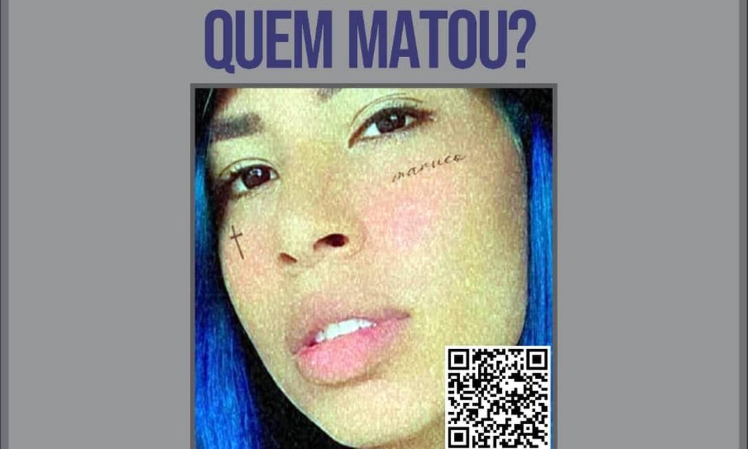 Cartaz de divulgação do Portal dos Procurados com pedido de informações Foto: Divulgação