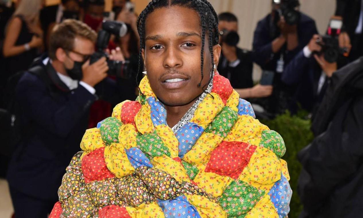 Rapperr A$AP Rocky Foto: ANGELA WEISS / AFP