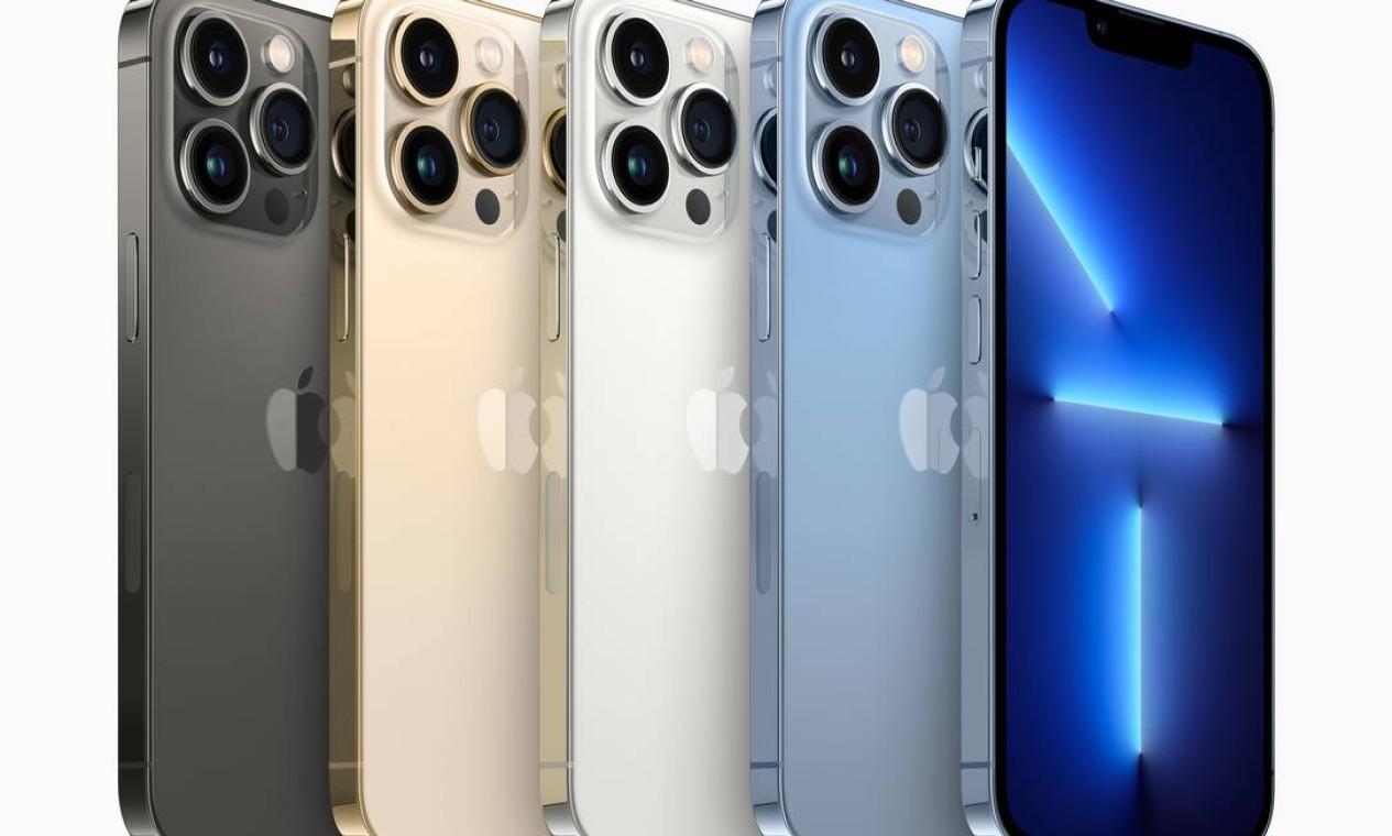 Apple lança iPhone 13 Pro e Pro Max com várias cores e preços a partir de US$ 999 Foto: Divulgação