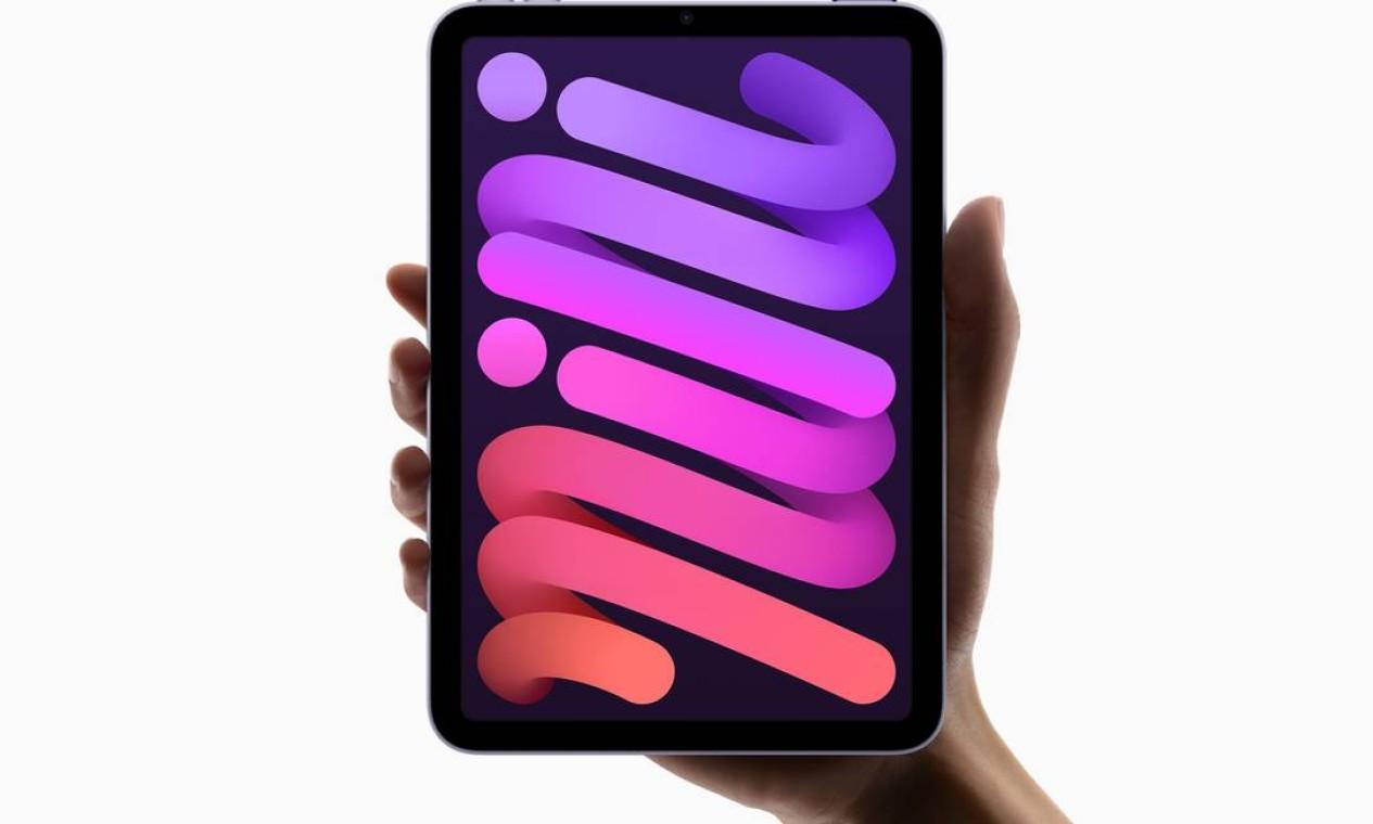 A versão iPad mini tem tela de 8,3 polegadas Foto: Divulgação