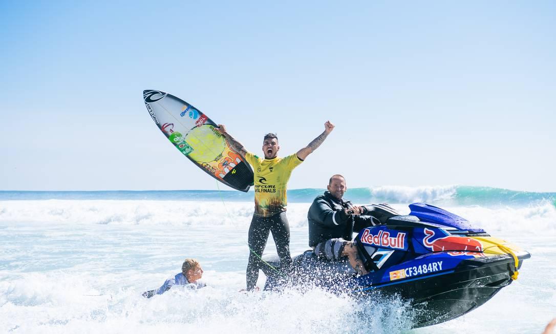 — Foto: Pat Nolan / World Surf League via Getty Imag