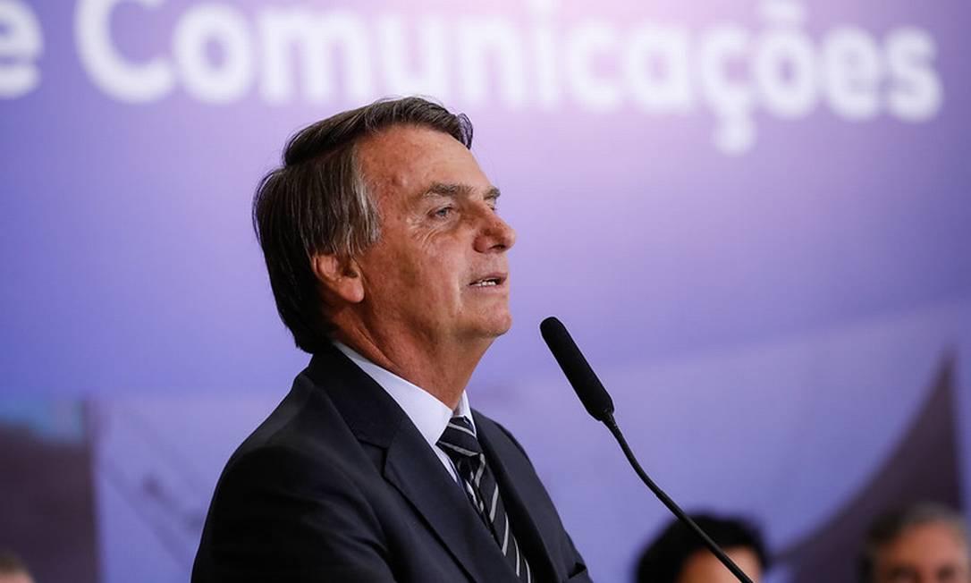 O presidente Jair Bolsonaro 14/09/2021 Foto: Alan Santos / Divulgação