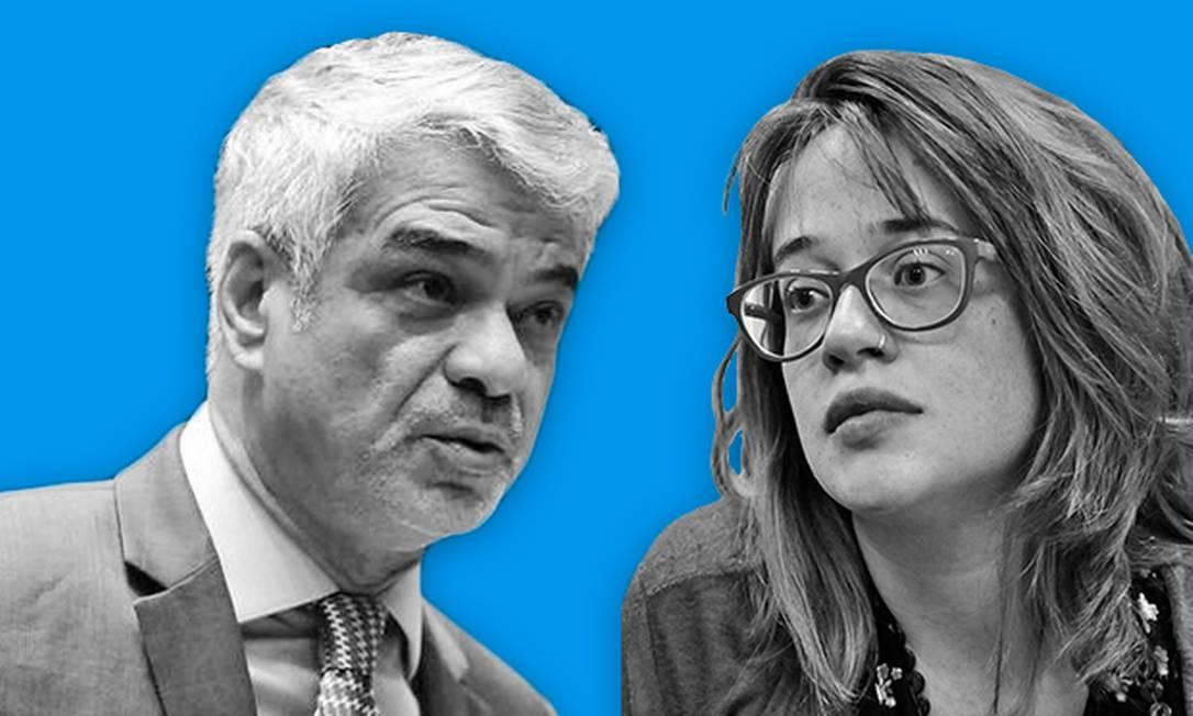 Concordamos em discordar com o senador Humberto Costa (PT-PE) e a deputada estacual Isa Penna (PSOL-SP) Foto: Editoria de Arte