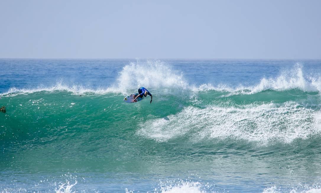 Tatiana Weston-Webb ficou com o vice-campeonato mundial Foto: Tony Heff / World Surf League via Getty Imag