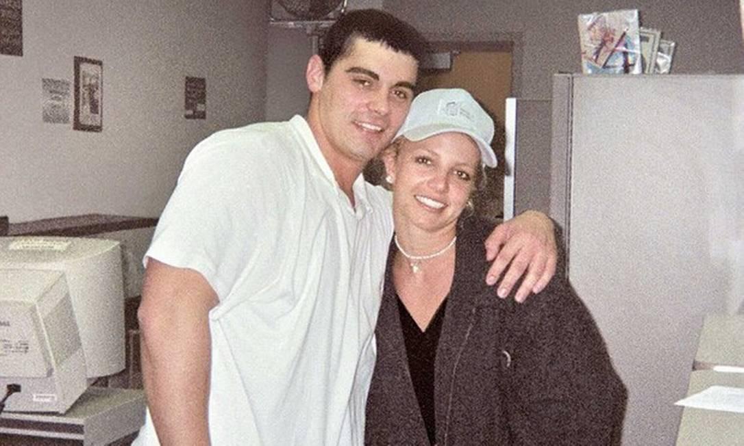 Britney Spears e o ex-marido Jason Alexander Foto: Reprodução