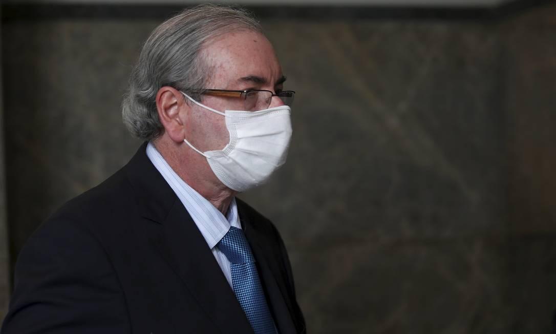 O ex-presidente da Câmara Eduardo Cunha teve mandato cassado em 2016 Foto: FABIANO ROCHA / Agência O Globo