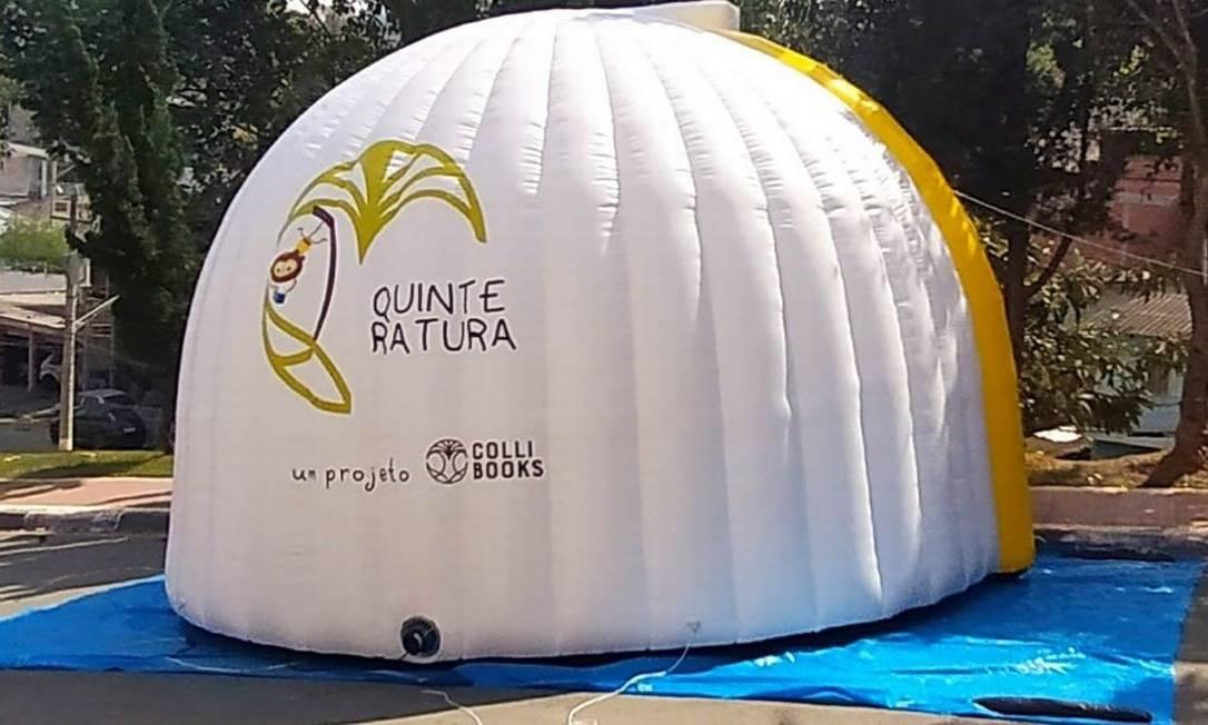 """""""Quinteratura"""" é um projeto de incentivo à leitura Foto: Divulgação/Colli Books"""