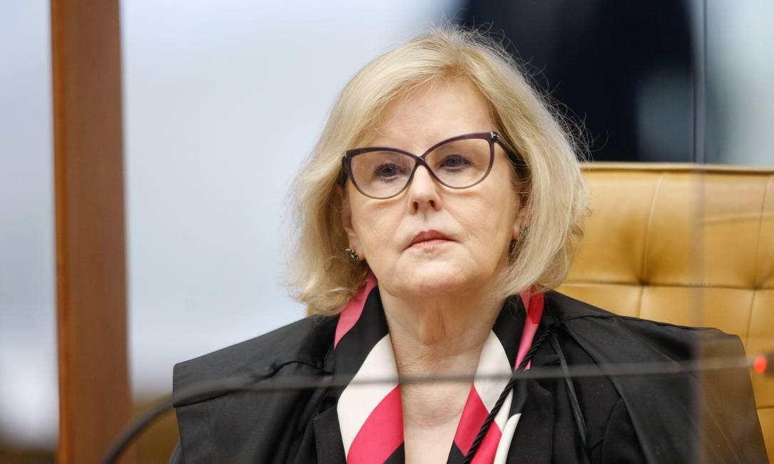 Ministra Rosa Weber em sessão plenária Foto: Fellipe Sampaio /SCO/STF / Agência O Globo
