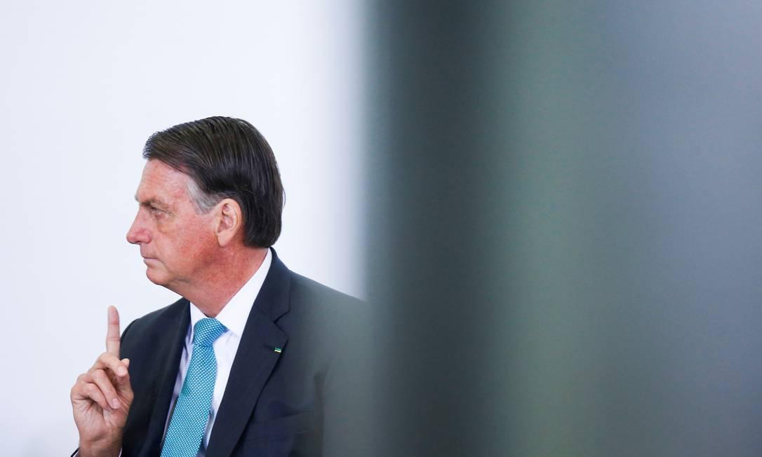 O presidente Jair Bolsonaro 15/09/2021 Foto: ADRIANO MACHADO / REUTERS