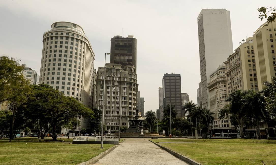 Região segue como o motor da economia da cidade Foto: Gabriel de Paiva / Agência O Globo