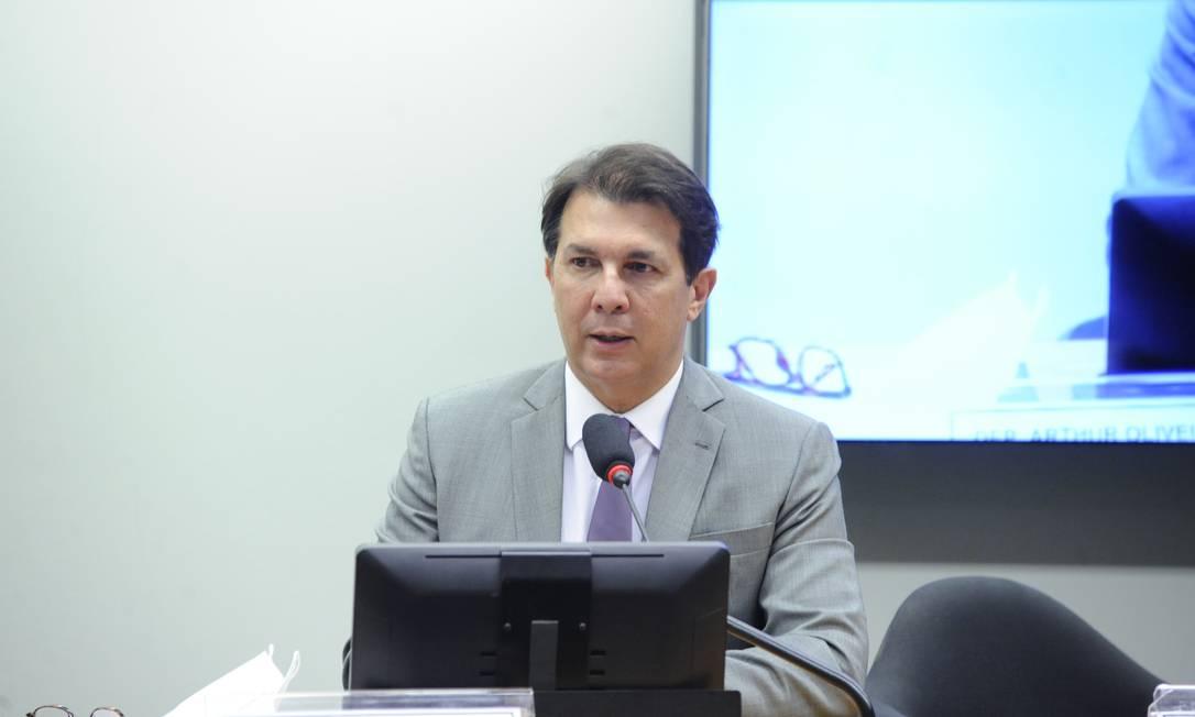 O relator da reforma administrativa, Arthur Maia Foto: Gustavo Sales / Câmara dos Deputados