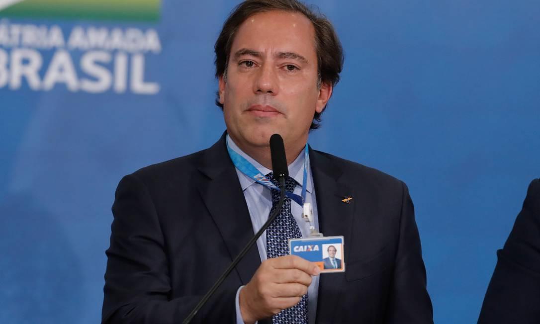 Presidente da Caixa, Pedro Guimarães Foto: Pablo Jacob / Agência O Globo
