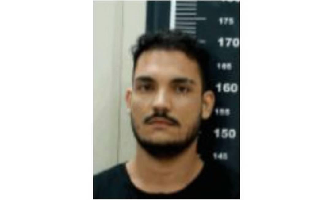 Alluan de Almeida Brito Araújo, conhecido como Alfafa, foi preso durante operação Foto: Reprodução