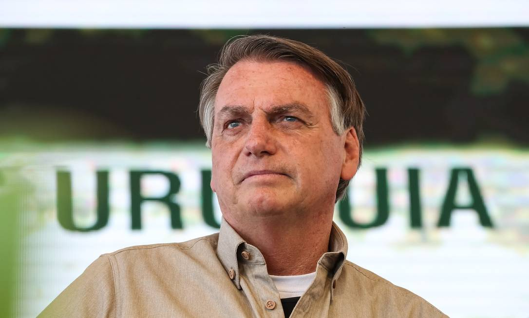 O presidente Jair Bolsonaro 17/ 09/ 2021 Foto: Marcos Corrêa/PR / Divulgação