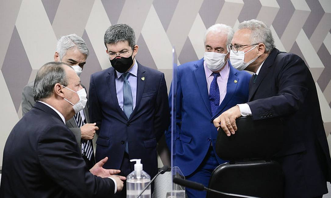 Comissão Parlamentar de Inquérito da Covid realiza reunião Foto: Pedro França / Pedro França/Agência Senado