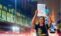 A ex- Bolsonarista Simone Santos Silva , 49 anos Foto: Edilson Dantas / O Globo