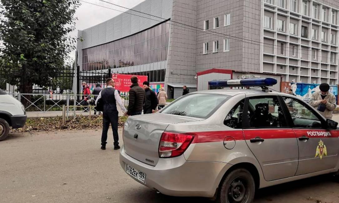 Atirador abriu fogo em universidade da Rússia Foto: STRINGER / REUTERS