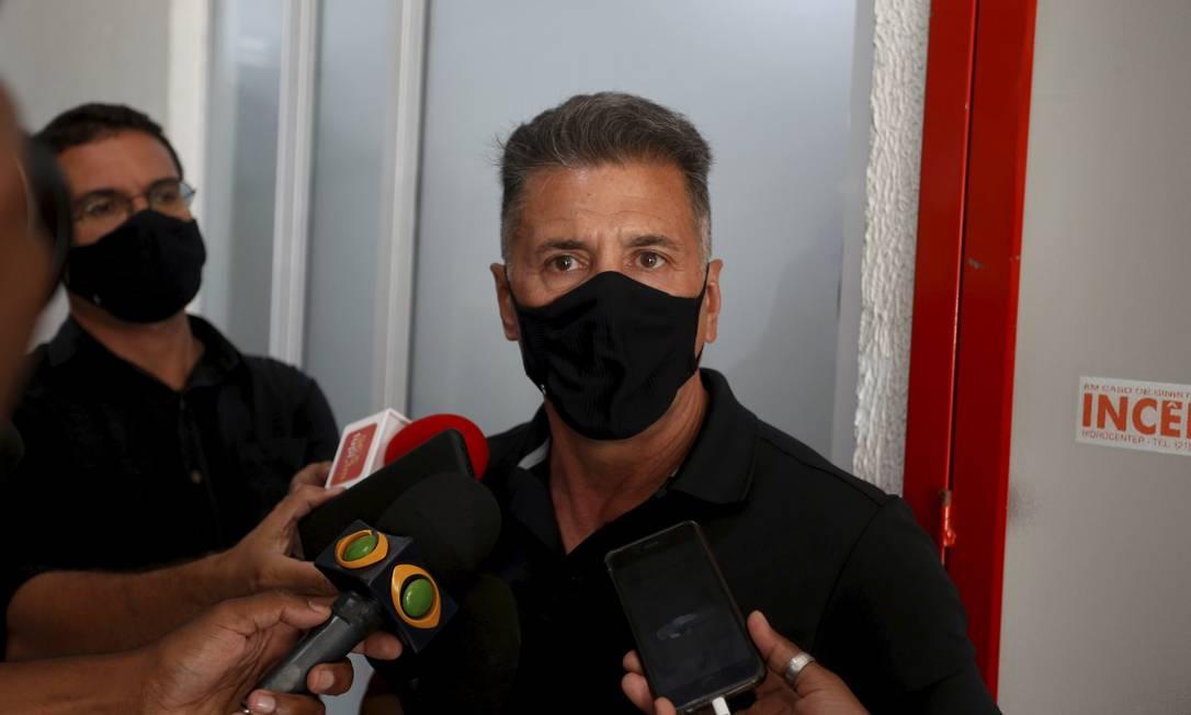 Adonis Lopes, piloto sequestrado que frustrou resgate de bandido Foto: FABIANO ROCHA / Agência O Globo