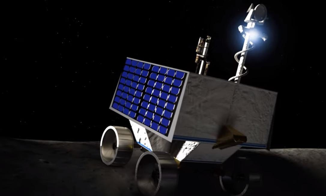 O VIPER (Veículo de exploração polar para pesquisas voláteis) deve começar missão na Lua em 2023 Foto: Reprodução/Nasa