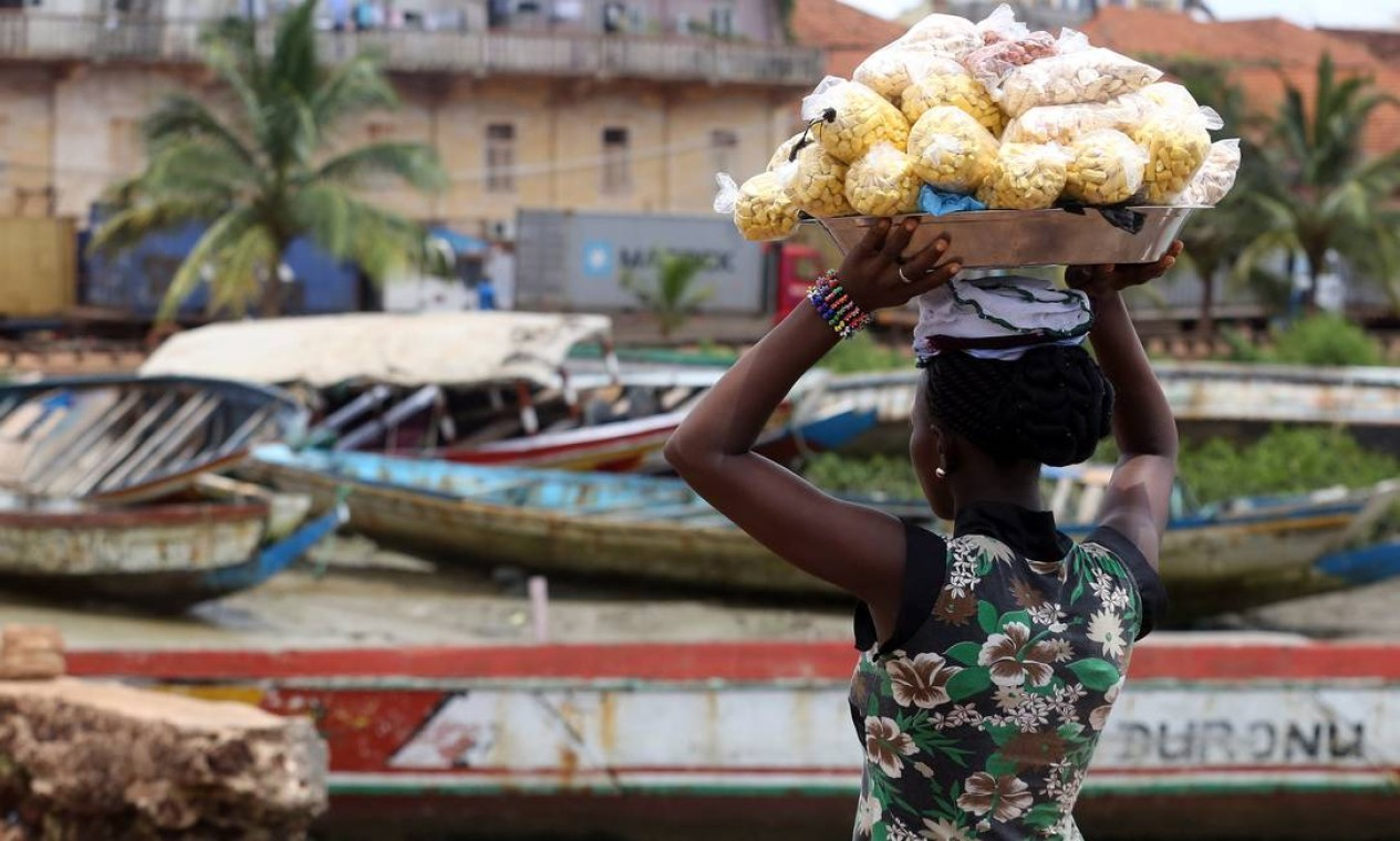 GUINE-BISSAU - O país da costa atlântica ocidental da África que depende da atividade agrícola e pesqueira para produzir mais de 60% do PIB, em 2019, teve um acumulado total de R$ 7,4 bi Foto: Cesar Fraga / Agência O Globo - 07/05/2014