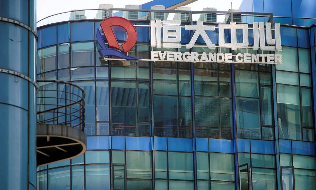 Grupo Evergrande tem dívida de US$ 85 milhões a vencer nesta quinta Foto: ALY SONG / REUTERS