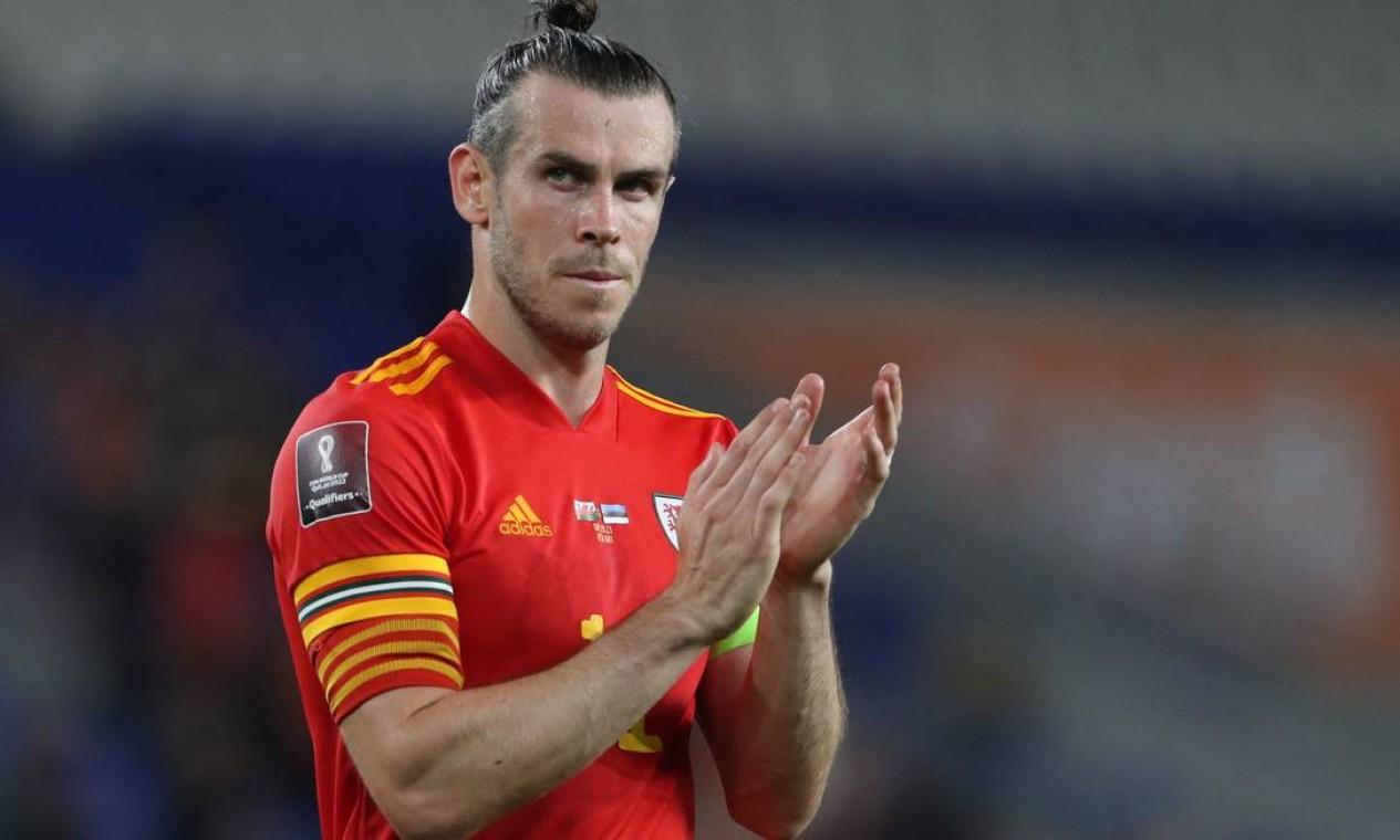9º - Gareth Bale, do Real Madrid; 32 milhões de dólares - R$ 169 milhões Foto: GEOFF CADDICK / AFP