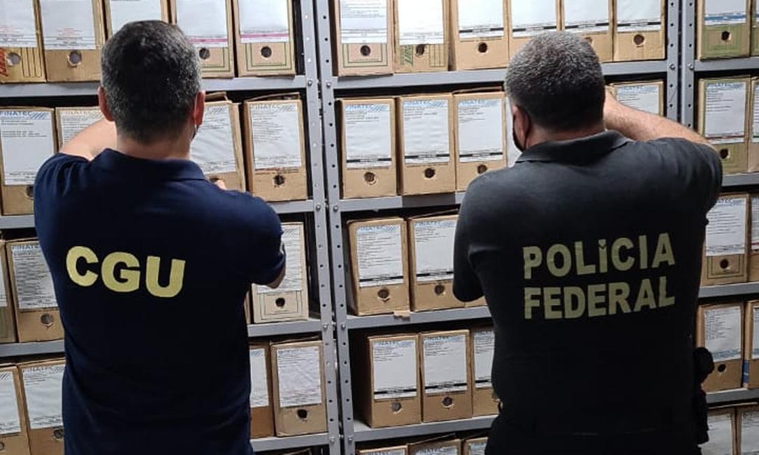 Operação Klopês consiste no cumprimento de 11 mandados de busca e apreensão no Distrito Federal e em Minas Gerais Foto: Divulgação/CGU