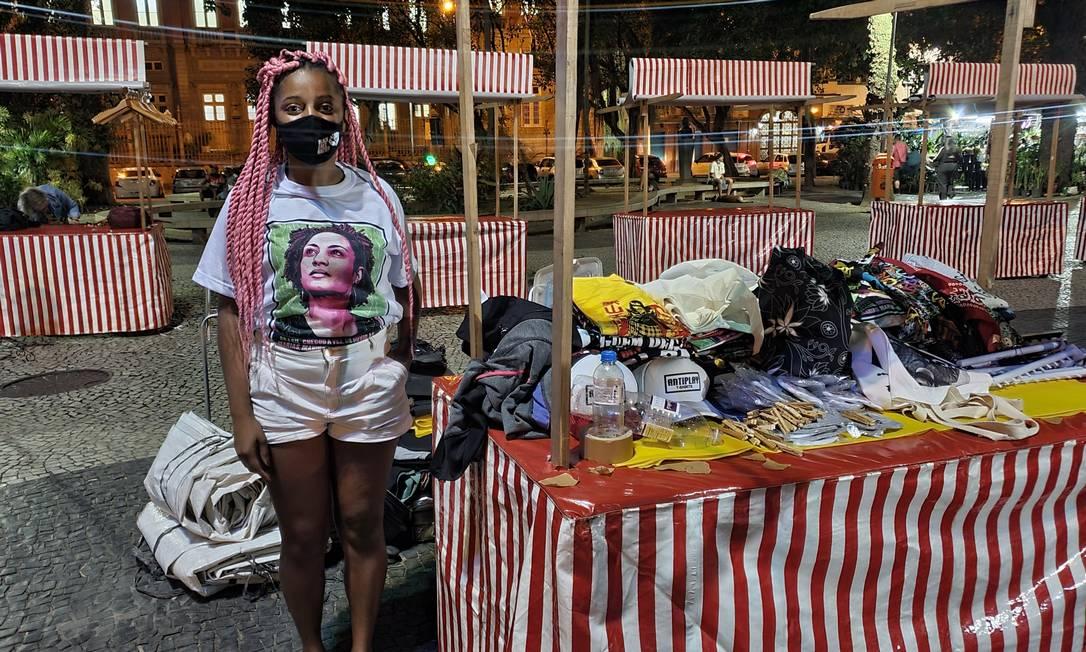 Nayara dos Santos foi vítima de comentários racistas e preconceituosos Foto: Rayanderson Guerra / Agência O Globo