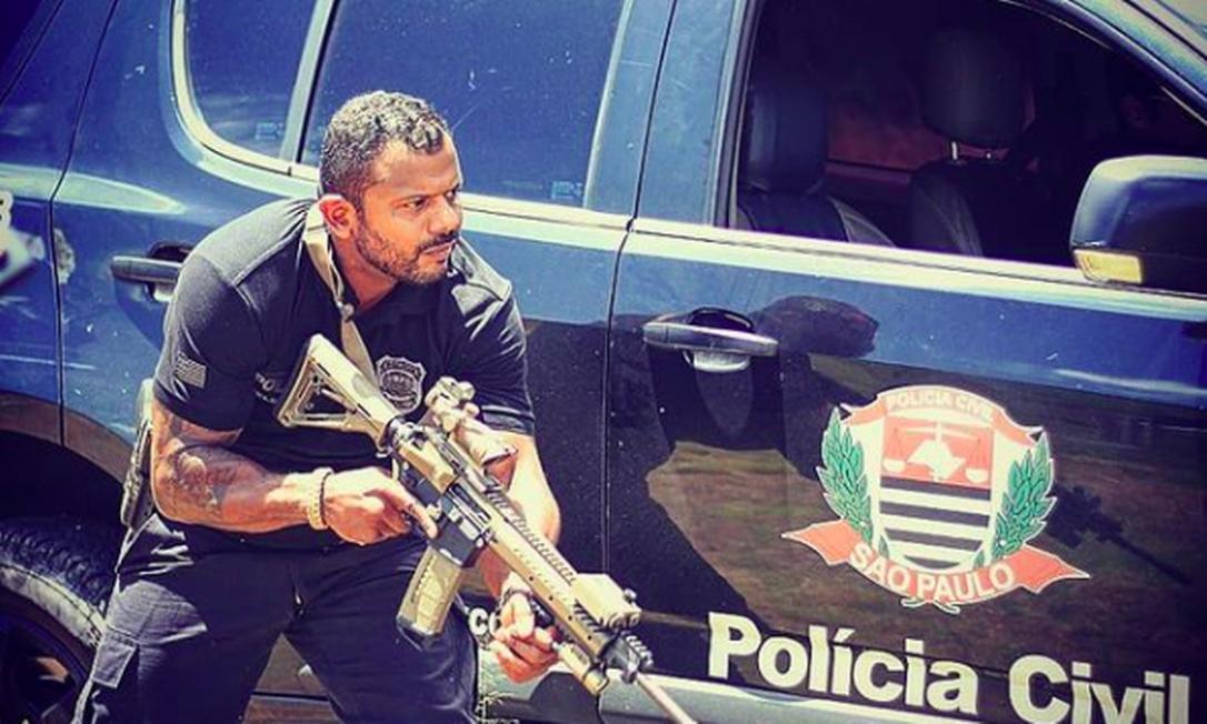 Da Cunha em post em rede social em setembro de 2020 Foto: Reprodução