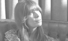 Rita Lee em outubro de 1976, um mês após sair da cadeia Foto: Antonio Carlos Piccino / Agência O GLOBO