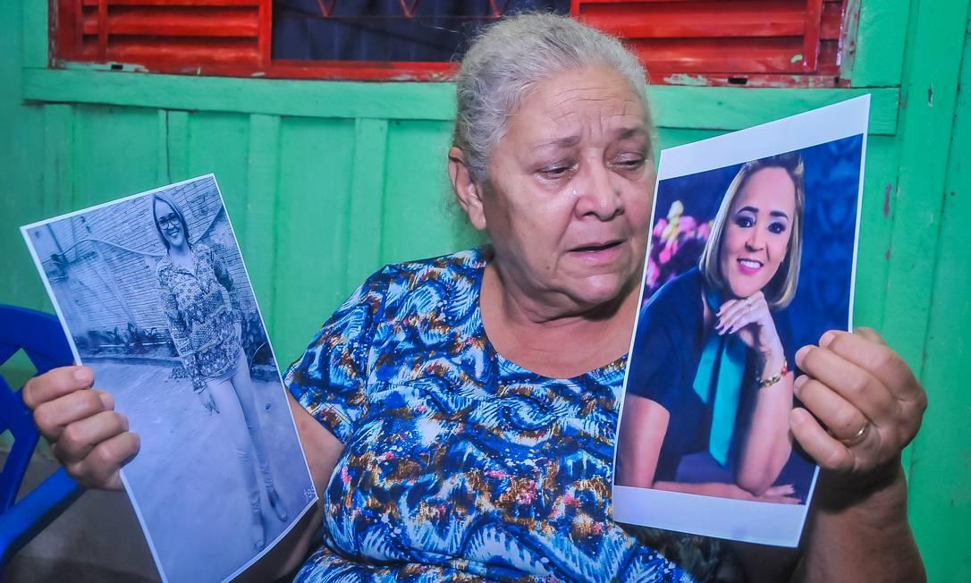 Irene Pereira da Silva, mãe de Lenilda Oliveira dos Santos, de 49 anos, que morreu na travessia Foto: Adilson Luiz