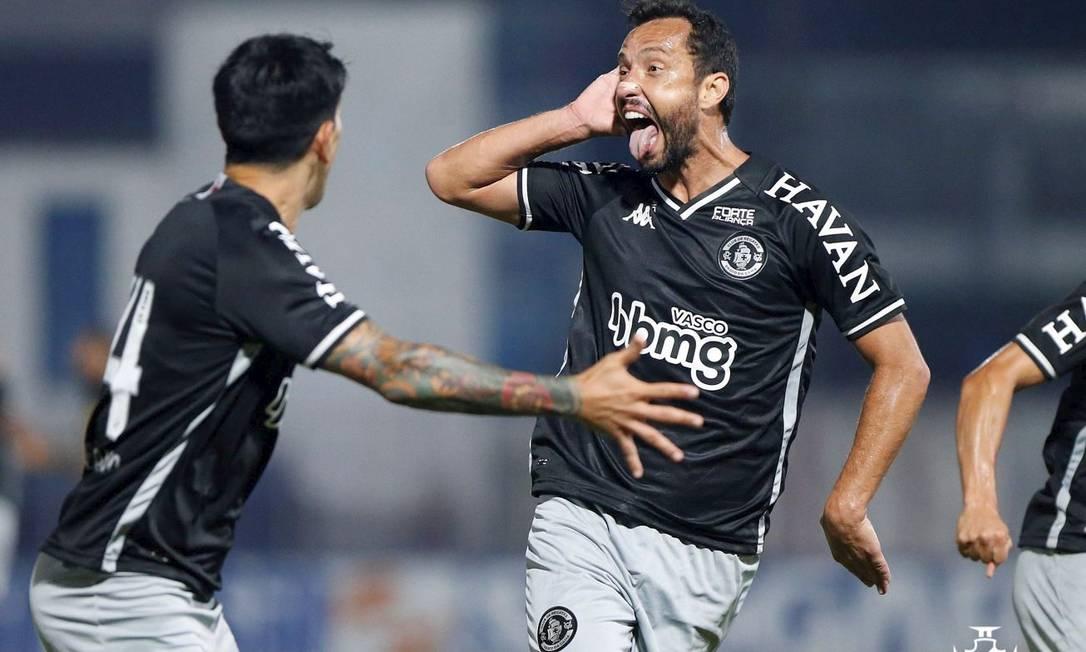 Nenê marcou o segundo gol em três jogos pelo Vasco Foto: Rafael Ribeiro/Vasco