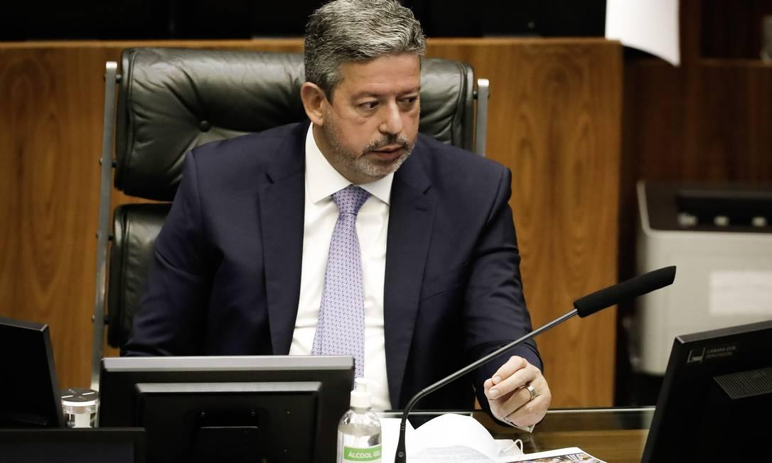 Arthur Lira (PP-AL) tem feito discursos contrários à política de preços da Petrobras Foto: PABLO JACOB / Agência O Globo